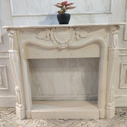 Marble furniture fireplace mantel