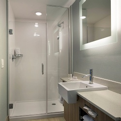 SpringHill Suites Shower Enclosure
