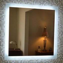 Side Lighted LED Backlit Bath Vanity Mirror