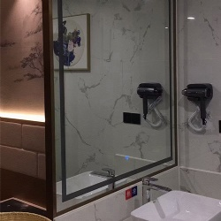 Bathroom LED Lighting Mirror with Aluminum Frame