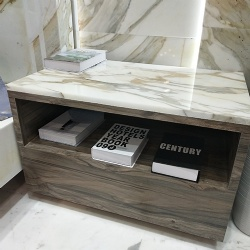Nightstand Funiture with Marble top